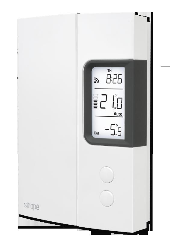 thermostat connect radiateur electrique centrale de touch e radiateurs lectriques with. Black Bedroom Furniture Sets. Home Design Ideas