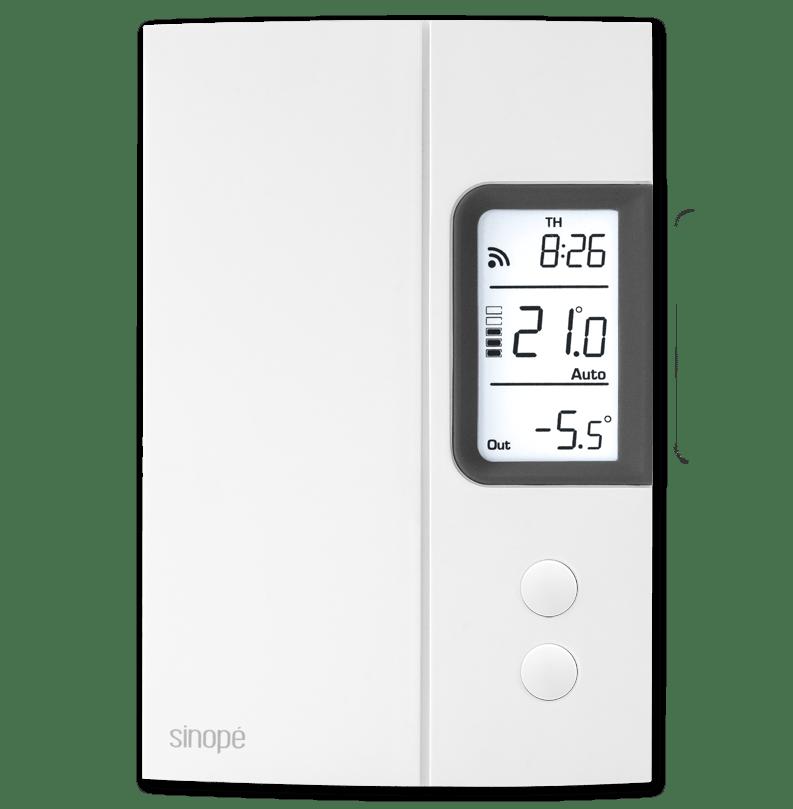 Thermostat pour chauffage électrique – 3000W – Programmable Web