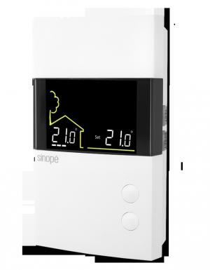 thermostat pour plancher chauffant non programmable. Black Bedroom Furniture Sets. Home Design Ideas