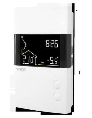 Thermostat pour plancher chauffant progrmmable Web 3600 W TH1300RF - Sinopé Technologies