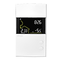 Low voltage thermostat 24 Vac – Web programmable