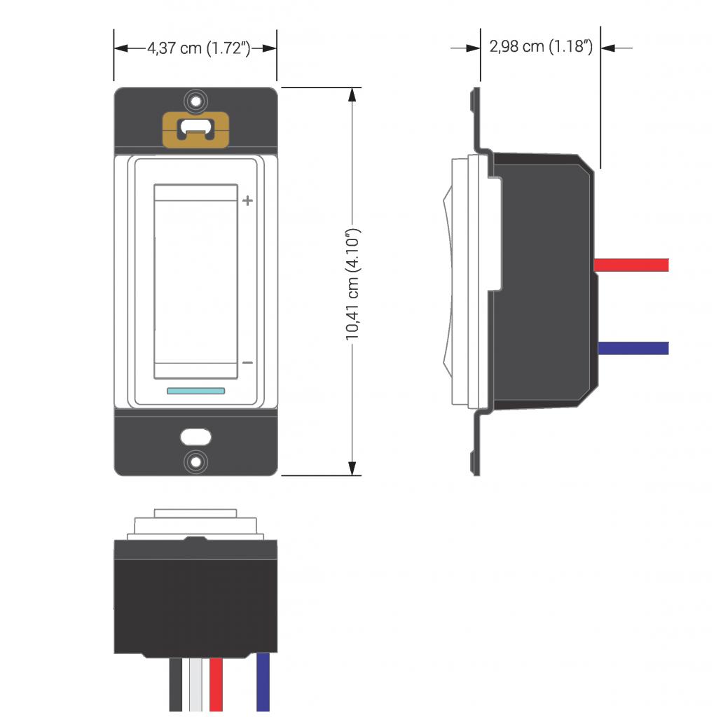 dimmer web programmable 600 w sinop technologies. Black Bedroom Furniture Sets. Home Design Ideas
