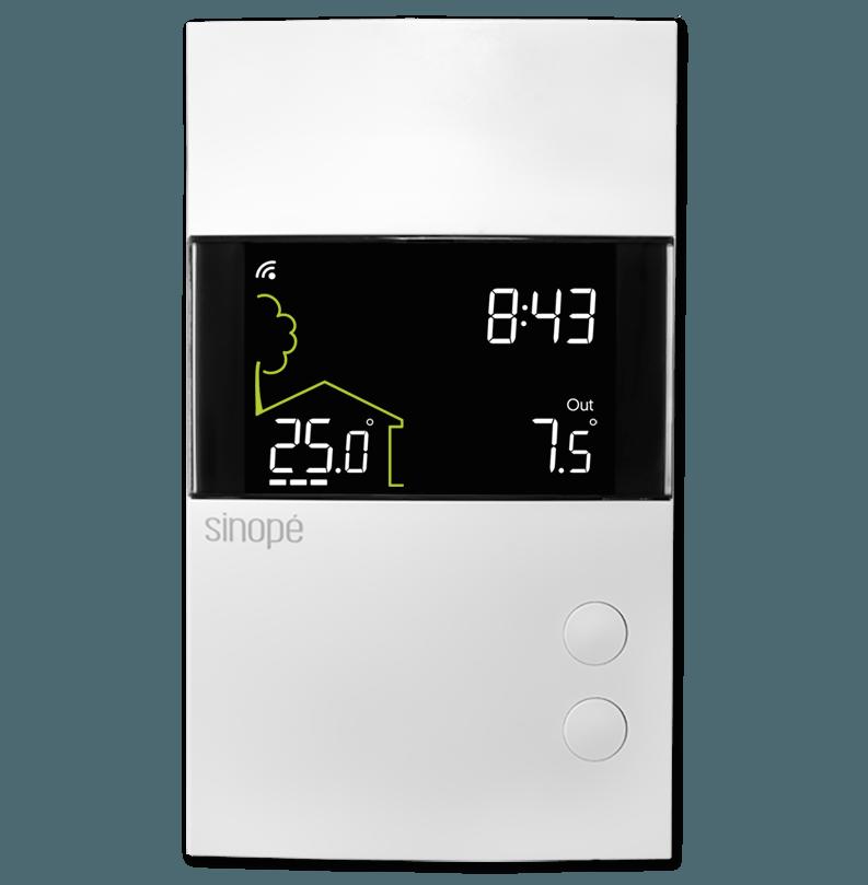 Thermostat pour plancher chauffant 3600W – Programmable Web