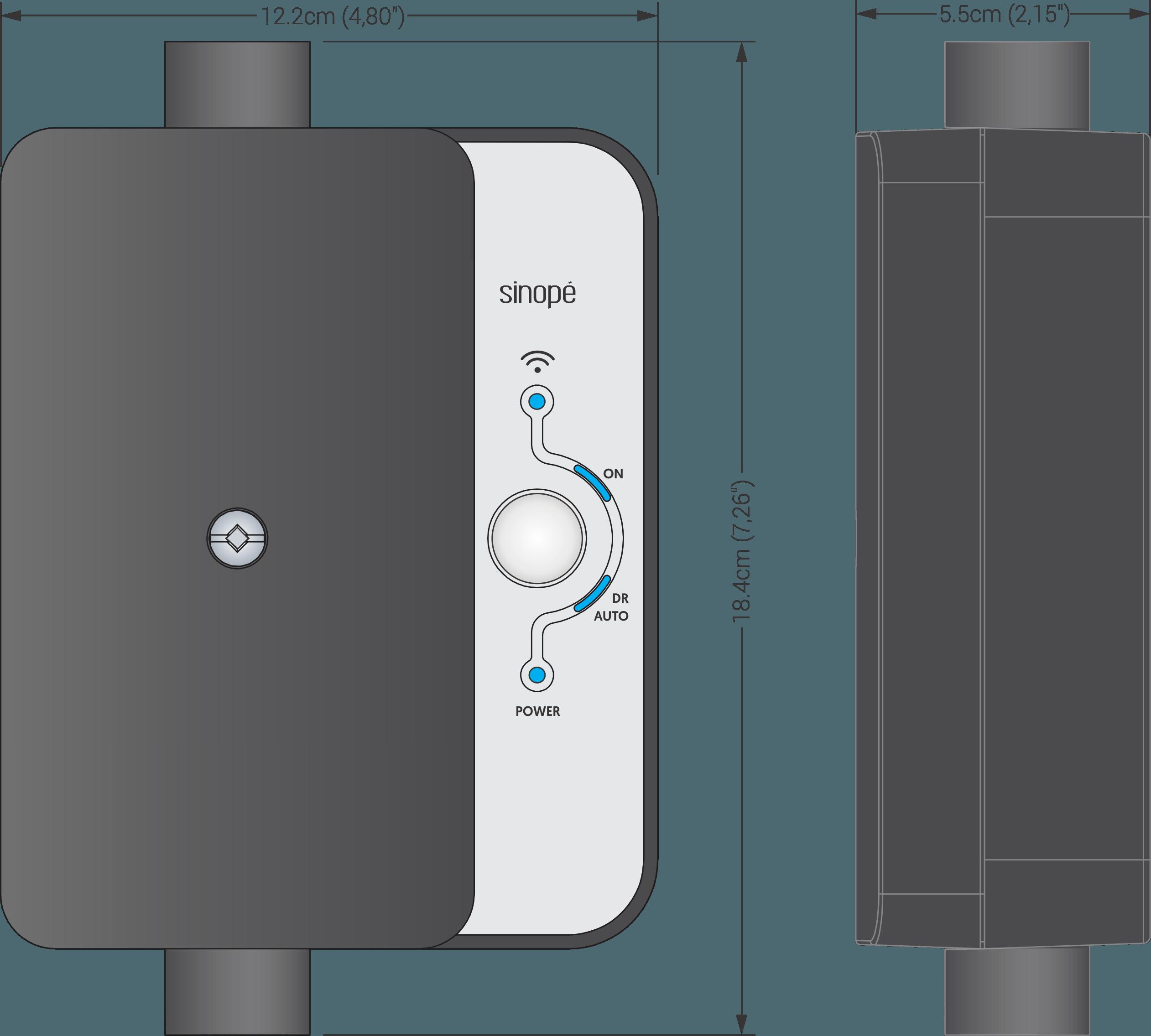 Smart electrical load controller 50 A – Zigbee