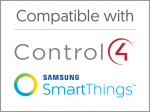 Compatible with Control4 and Samsung SmartThings - Sinopé Technologies