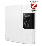 TH1124ZB - thermostat intelligent pour chauffage électrique 4000 W - Sinopé Technologies