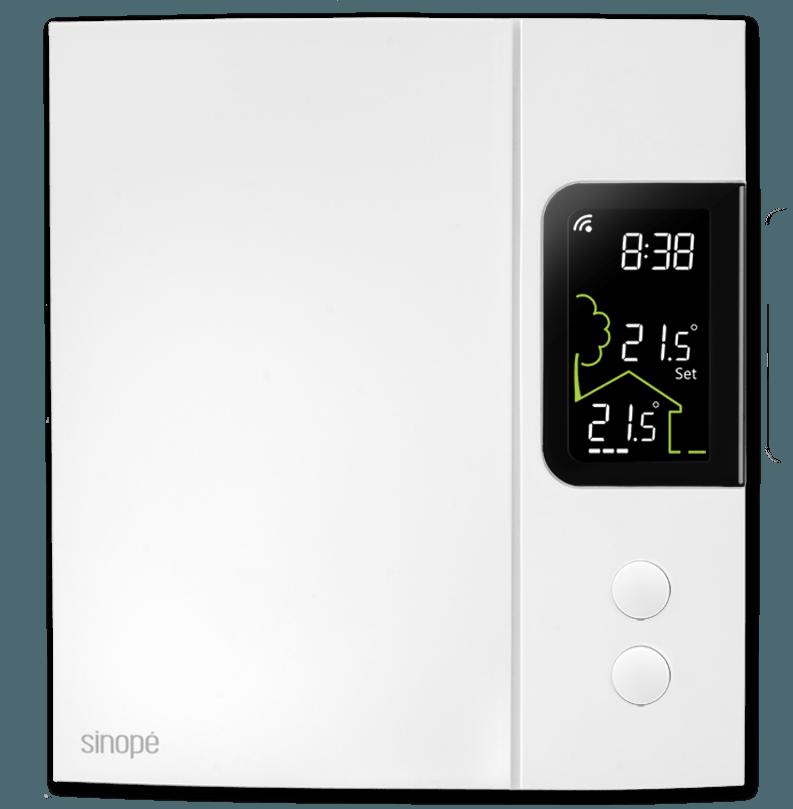 Thermostat intelligent pour chauffage électrique 4000W – Control4