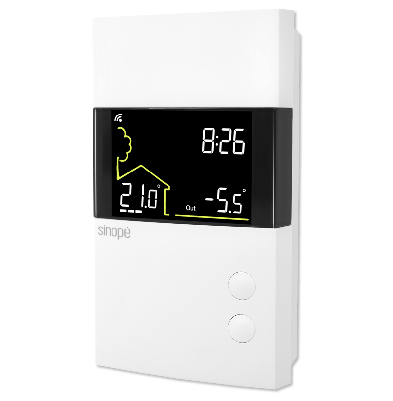 thermostat bipolaire pour chauffage lectrique 3600 w programmable web sinopetech. Black Bedroom Furniture Sets. Home Design Ideas