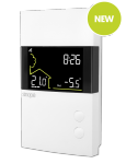TH1500RF - Double-pole thermostat - Web programmable