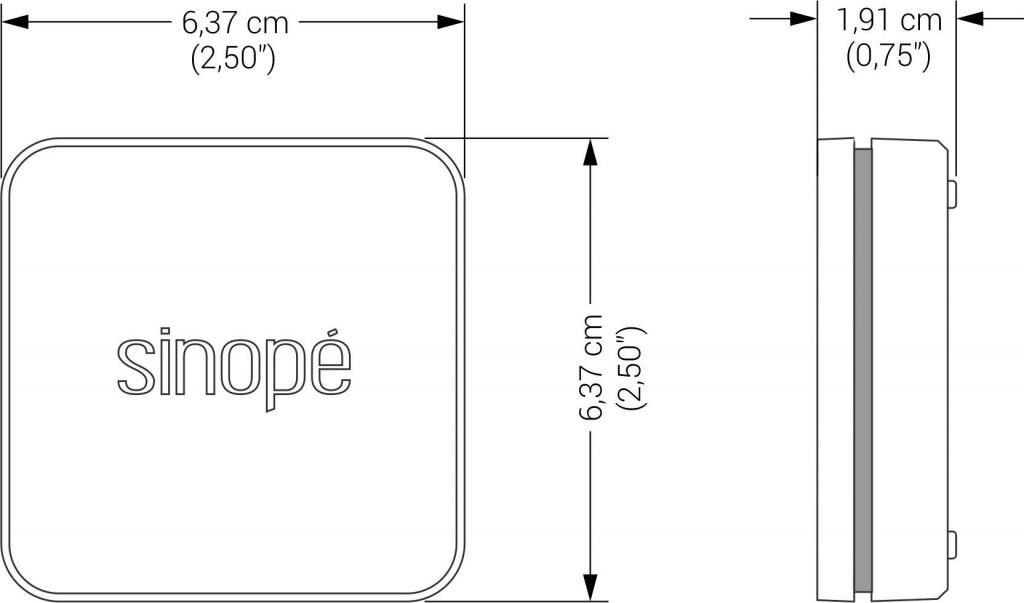 Détecteur de fuites d'eau intelligent WL4200 - Sinopé Technologies