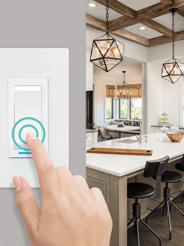 Smart light switch 1800 W – Zigbee