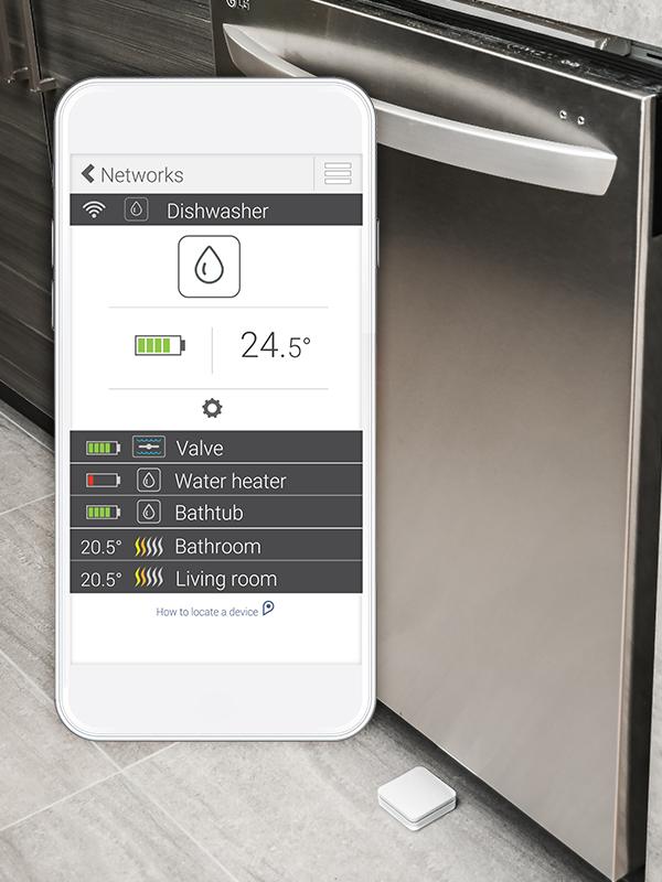Sedna D – Smart water leak detector – Zigbee