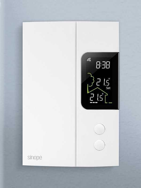 Smart thermostat for electric heating 3000W / 4000W – Zigbee