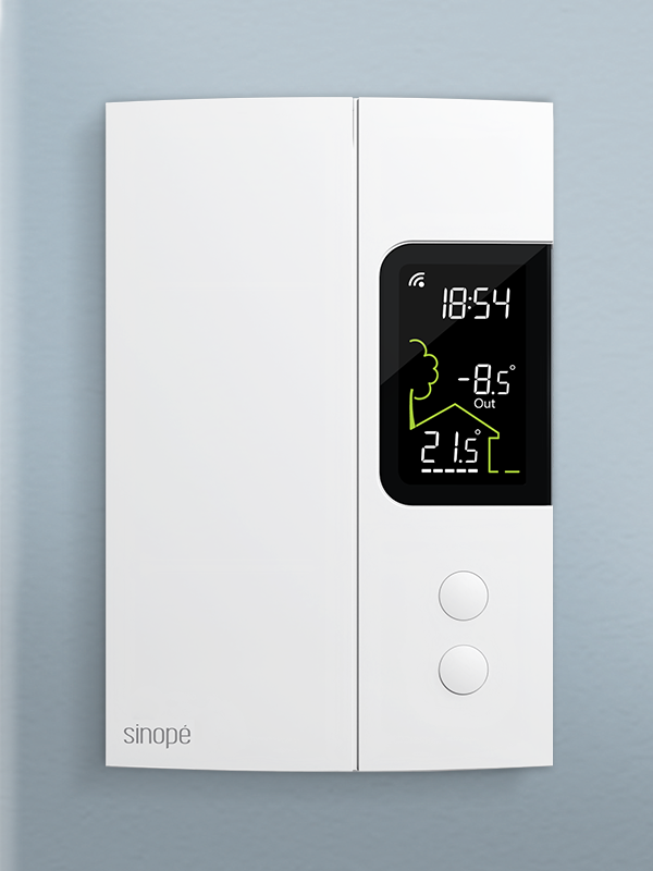 Smart thermostat for electric heating 3000 W – Zigbee
