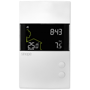 Thermostat intelligent pour plancher chauffant 3600 W – Zigbee