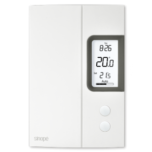 Thermostat for electric heating 3000 W – Programmable