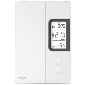Thermostat for electric heating 3000 W / 4000 W – Web programmable