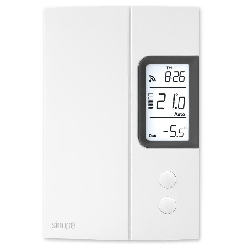 Thermostat for electric heating  – 3000 W – Web programmable