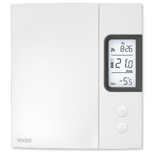 Thermostat for electric heating 4000 W – Web programmable
