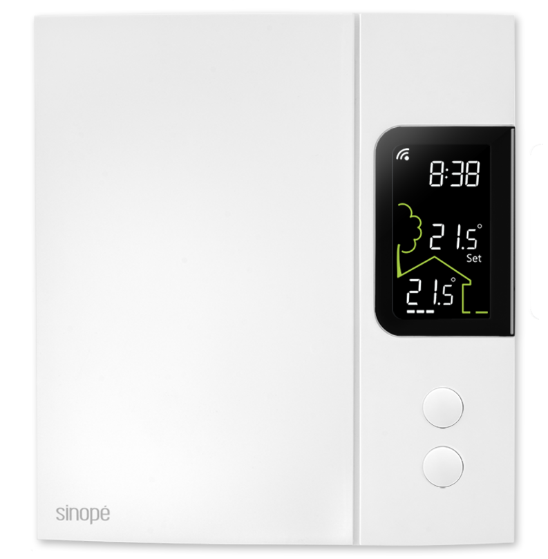 Smart thermostat for electric heating 4000W – Zigbee