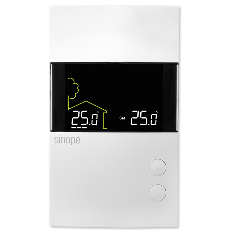 Floor heating thermostat 3600W – Non-programmable