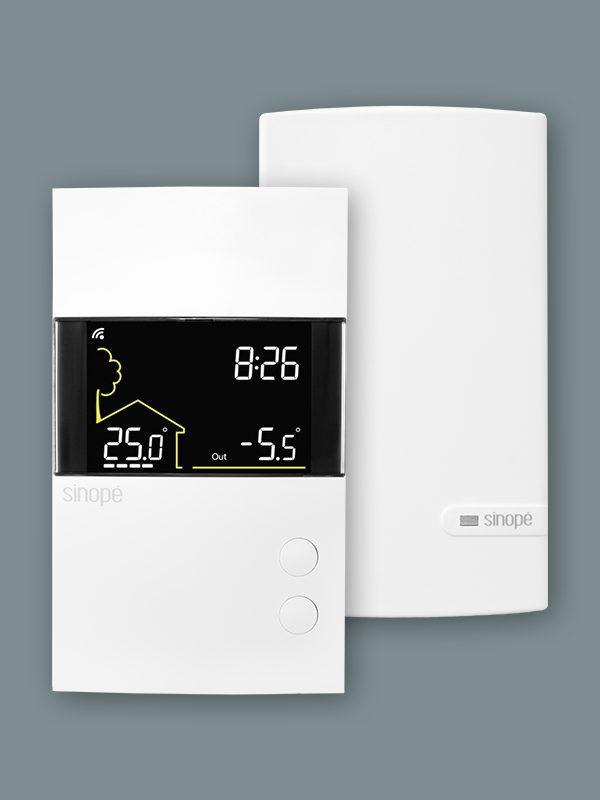 Thermostat intelligent pour plancher chauffant 3600 W – Control4
