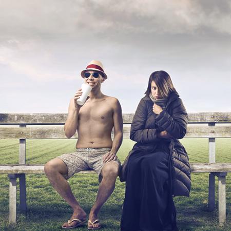 23 °C : chaud en hiver, froid en été ?