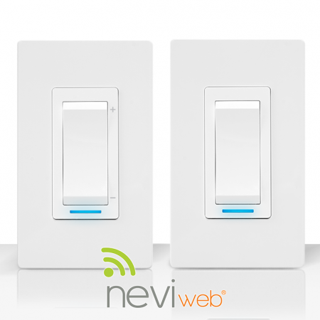 Sinopé light switch, dimmer, and Neviweb