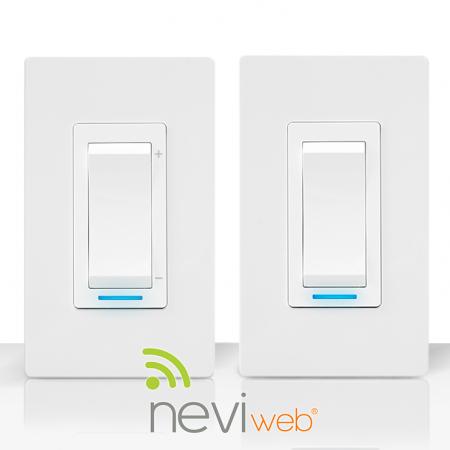 L'interrupteur, le gradateur et Neviweb