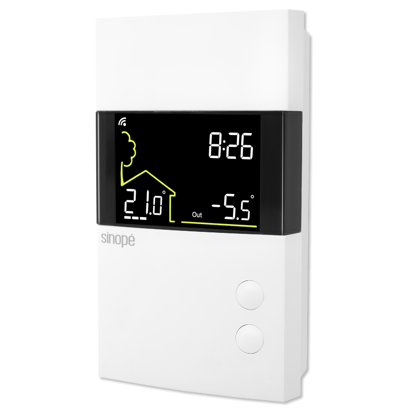Low voltage thermostat Web programmable - TH1400RF - Sinope Technologies