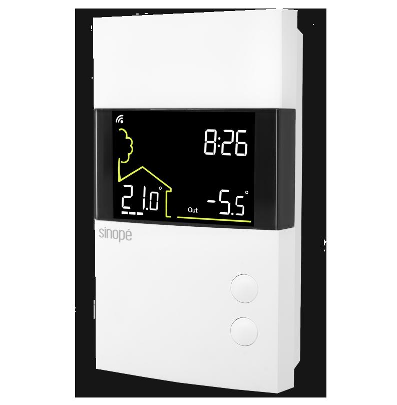 Thermostat intelligent basse tension Zigbee