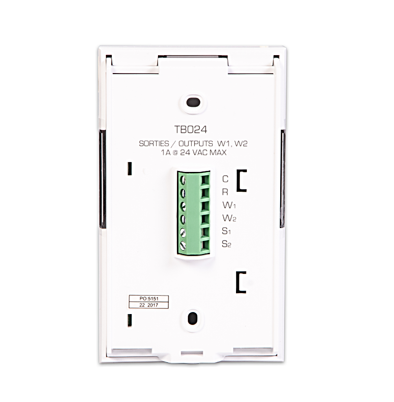 low voltage smart thermostat 24 vac  u2013 control4
