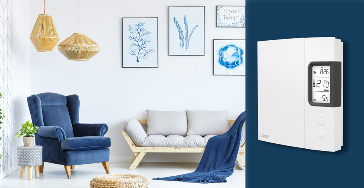 Energy savings with smart thermostats - Sinope