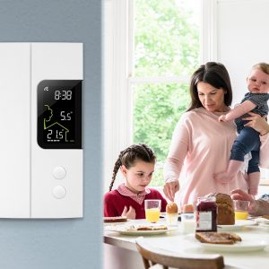 Smart thermostat for electric heating