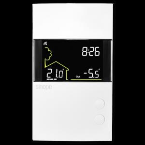 Thermostat bipolaire intelligent pour chauffage électrique – 3600 W – Control4<sup>®</sup>