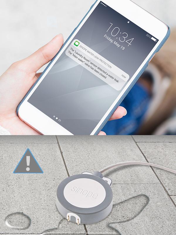 Sedna DS – Smart water leak detector with sensor – Control4