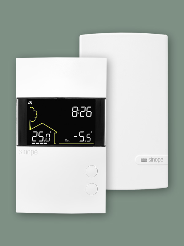 Thermostat intelligent pour plancher chauffant 3600 W – Wi-Fi