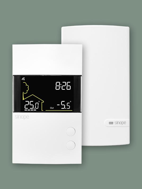 Thermostat intelligent pour plancher chauffant 3600W – Wi-Fi
