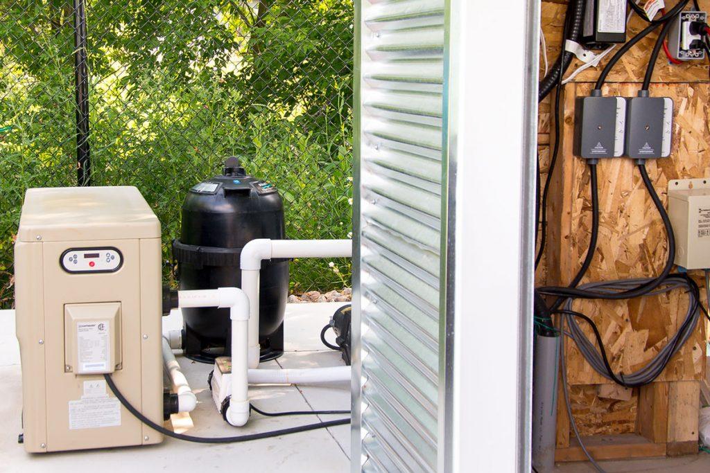 Vous pouvez maintenant contrôler le chauffe-eau et la pompe de la piscine avec votre appareil mobile!