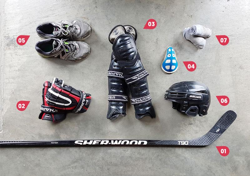 Équipement Deck Hockey - Sinopé