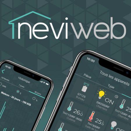 Bienvenue dans l'appli Neviweb!