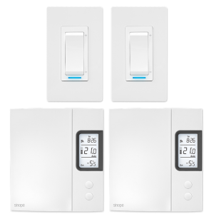 Ensemble éclairage et chauffage électrique 4000 W –  Programmable Web