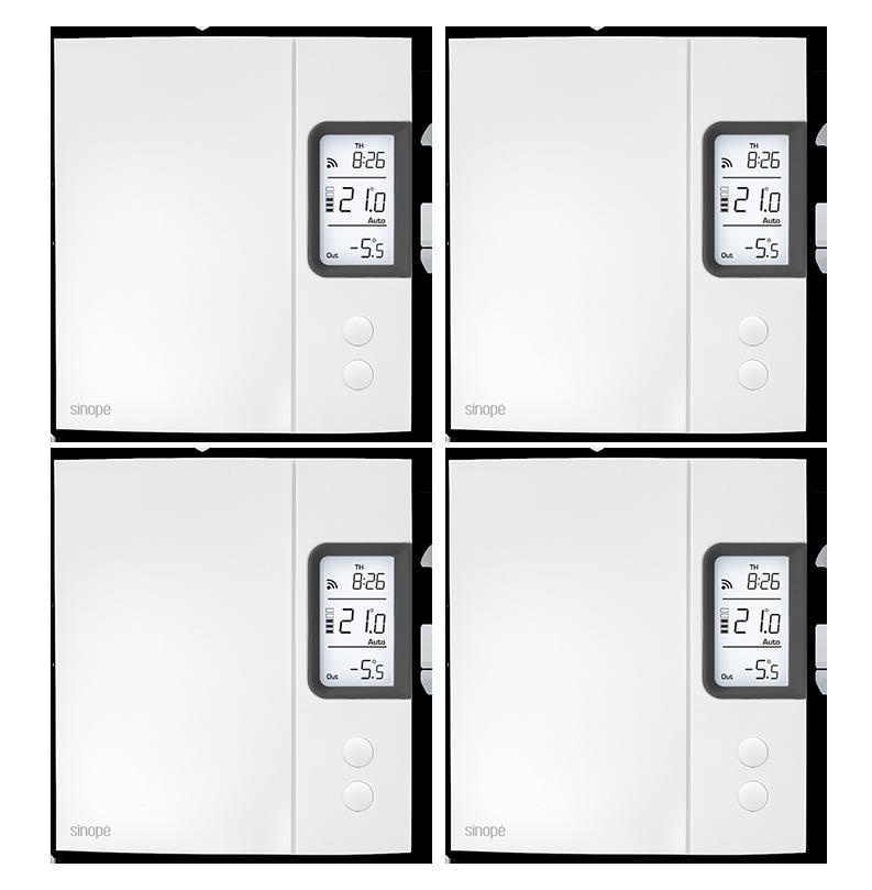 Electric Heating Big Bundle 4000 W Web Programmable