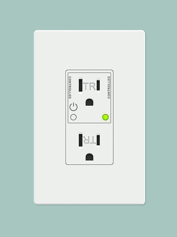 Smart in-wall outlet – Zigbee