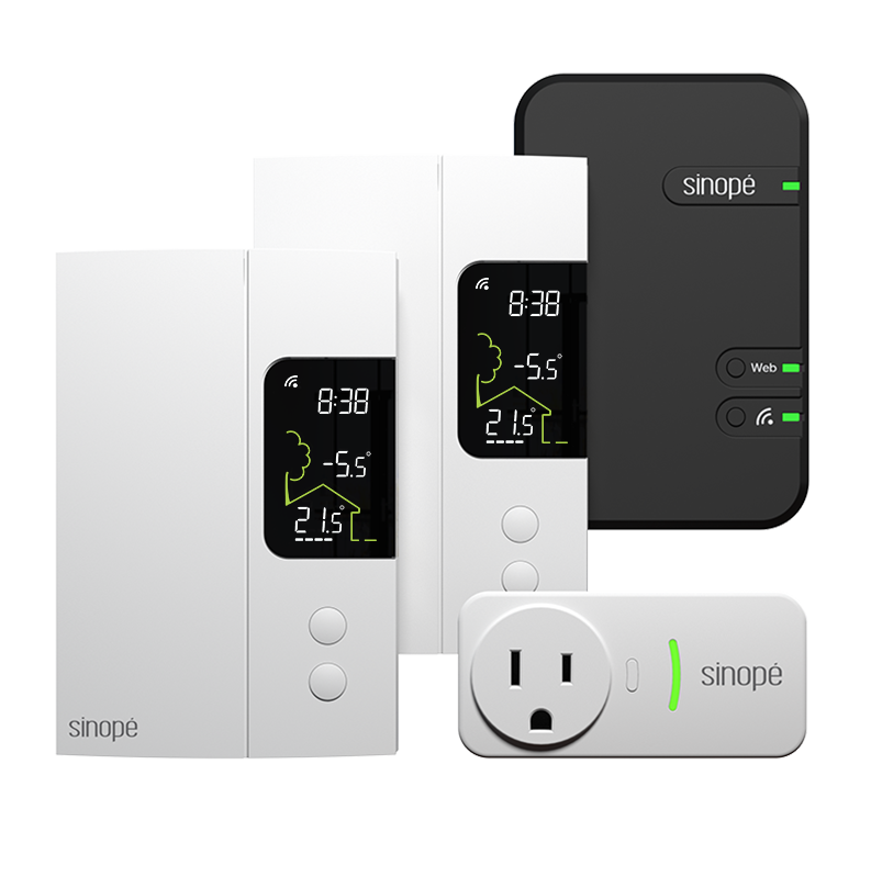 Electric heating starter-kit - Zigbee - Sinopé