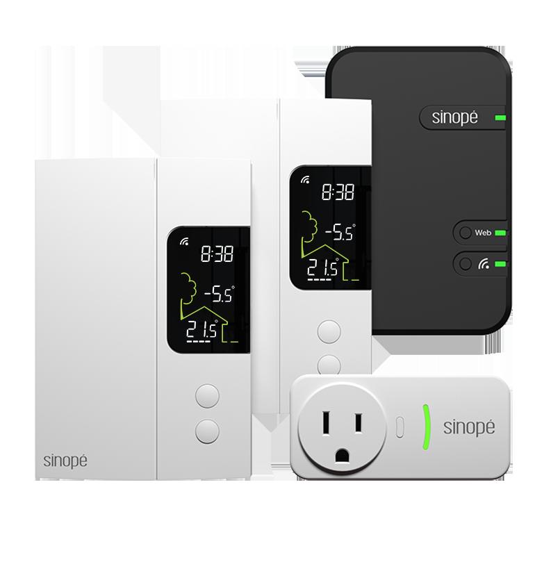 Trousse de démarrage pour chauffage électrique   – 3000W – Zigbee
