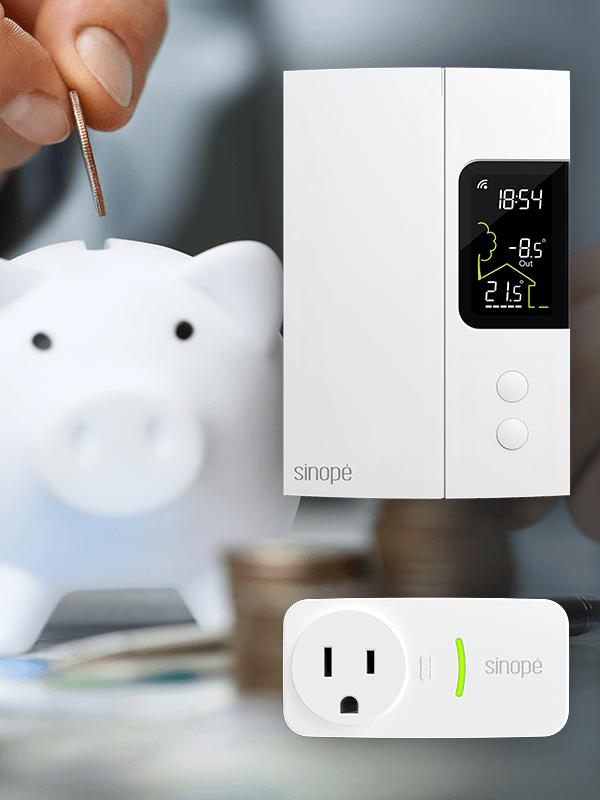 Trousse de démarrage pour chauffage électrique 3000 W – Zigbee