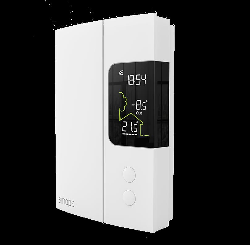 Thermostat pour chauffage électrique