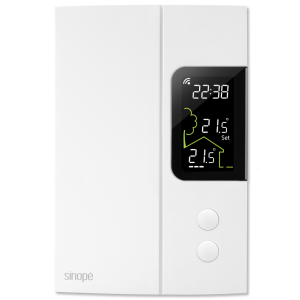 Smart Wi-Fi thermostat for electric heating 3000W