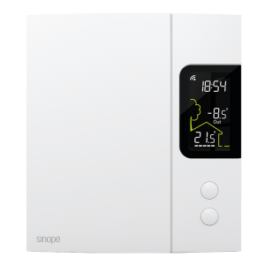 Thermostat Wi-Fi intelligent pour chauffage électrique 4000W